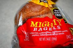 Learn all about our #GlutenFree Mighty (Good) Bagel on Healthy Living Maintenance!