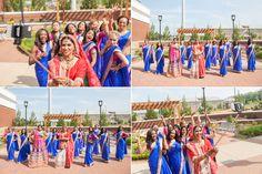 Indian Wedding Bridal Party Cartersville Garrett Frandsen