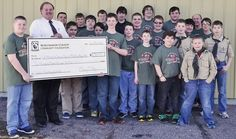 "Boy Scout Troop 944 Receives RCCF Grant for ""Uniform"" T-Shirts"