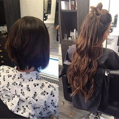 Semi Permanent Tape Extensions Non Damaging LIFE CHANGING Seamless Hair