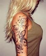 Rose half sleeve tattoo - Bing Images