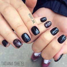 Beautiful nails 2016, brilliant nails, Easy nail designs, Evening dress nails, Everyday nails, Fashion nails 2016, Geometric nails, Glossy nails