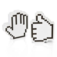 Pixel Hand Note Pads