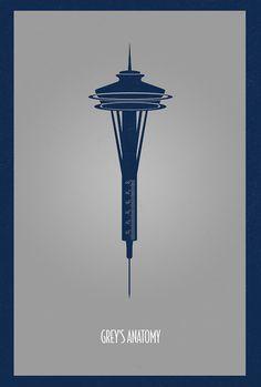 Seattle Space Needle - Grey's Anatomy