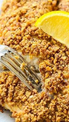 Crispy Almond Crusted Tilapia