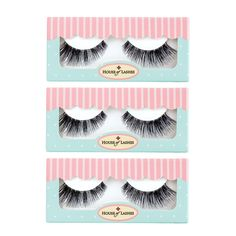"House Of Lashes @houseoflashes ""TIGRESS"" 3PK Hand made from 100% human hair Cruelty Free False Lashes #eye #makeup #falsies"