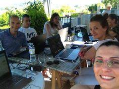 Tarde de trabajo con nuestro equipo #davidyandrea #empowernetwork #negocioporinternet
