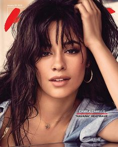 Camila Cabello on the cover of Hits Daily Double (HDD) Cabello Hair, Camila And Lauren, Fifth Harmony, Female Singers, Woman Crush, Camilla, Celebrity Photos, Beautiful Women, Celebs