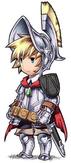 Final Fantasy III: Ingus - Knight