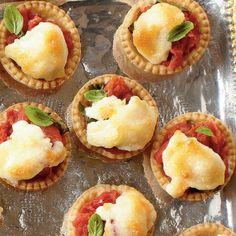 Best Party Appetizer Recipes: Tiny Tomato Tarts