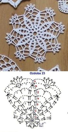 Transcendent Crochet a Solid Granny Square Ideas. Inconceivable Crochet a Solid Granny Square Ideas. Crochet Snowflake Pattern, Crochet Motif Patterns, Crochet Snowflakes, Crochet Diagram, Crochet Chart, Thread Crochet, Crochet Doilies, Crochet Flowers, Crochet Lace