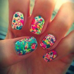 Follow me! I post lots if nails and beauty! I follow back:)