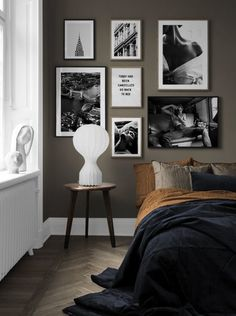 Furnishing ideas and inspiration Art & Living Ideas - Desenio.at, Furnishing ideas and inspiration Art & Living Ideas - Desenio. Gallery Wall Bedroom, Gallery Walls, Home Bedroom, Bedroom Wall, Decor Room, Bedroom Decor, Home Decor, Ideas Hogar, Inspiration Design
