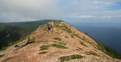 Money Point hike during the 'Hike the Highlands' festival which takes place each September in the Cape Breton Highlands.