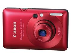Canon PowerShot SD780IS 12.1 MP Digital Camera with 3x Optical Image Stabilized Zoom and 2.5-inch LCD (Deep Red), Best Gadgets