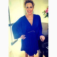 Um bom dia com o clic da jornalista @volpato_regina com nosso kaftan MUSO da vidaaa!!!❤️❤️❤️#reginasalomao #SunsetVibesRS #SS17 #momentoRS