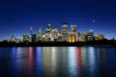 https://flic.kr/p/SE8adb | Sydney, Australia - Skyline | Adjoining the Royal Botanic Gardens but officially part of the Domain, Mrs Macquaries Point forms the northeastern tip of Farm Cove and provides beautiful views over the bay to the Opera House and city skyline. It was named in 1810 after Elizabeth, Governor Macquarie's wife, who ordered a seat chiselled into the rock from which she could view the harbour. Mrs Macquarie's Chair, as it's known, remains to this day.  Clouds of…
