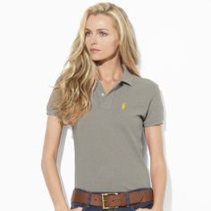 Women's Polo Shirts | Ralph Lauren Why don't I look this good in a polo!?