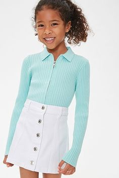 Summer Fashion For Teens, Tween Fashion, Girls Fashion Clothes, Girl Fashion, Emo Fashion, Cute Little Girls Outfits, Kids Outfits Girls, Cute Casual Outfits, Moda Tween