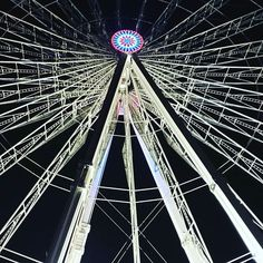 #paris #night #granderoue #greatwheel #france