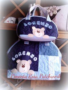 bolsa maternidade | Pimenta Rosa Patchwork | Elo7
