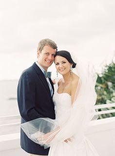 Balcony shot | Palm Beach, South Florida Wedding Photographer | Jessica Lorren Organic Wedding Photography | John & Alex's Wedding at The Tuckahoe Mansion