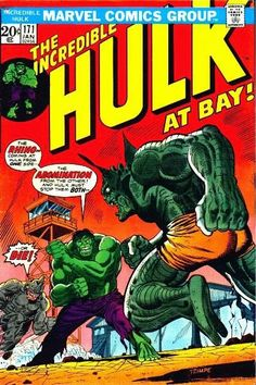 The Incredible Hulk Series January 1974 Marvel Comics Grade F/VF Hulk Marvel, Hulk Comic, Marvel Comic Books, Comic Book Characters, Marvel Heroes, Comic Character, Comic Books Art, Avengers, Spiderman
