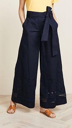 Womens Crisp Wide-leg Prat Pants £484.00