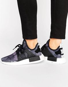 f771230a2 adidas Originals NMD Xr1 Sneakers In Black Camo