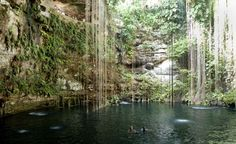 Cenote Sagrado, mexico
