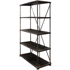 1stdibs - Industrial Steel Bookshelf explore items from 1,700 global dealers at 1stdibs.com