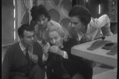 """""""Doctor Who"""" The Dead Planet (1963) - Ian, Susan, Barbara, and the 1st Doctor"""