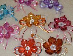 Munecos Con Botellas De Plastico | que mas puedo hacer con flores hechas de botellas de plastico