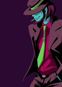 Jigen Daisuke / 次元大介 Lupin The Third, Apocalypse Art, Dragon Ball, Magic Kaito, Anime Characters, Fictional Characters, Miyazaki, Manga, Anime Comics