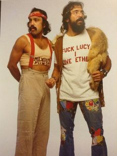 Cheech and Chong perfect for #DOMAINNAME http://MarijuanaComedy.com
