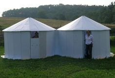 Folded Homes - Our Shelters (non-traditional low cost temporary emergency or semi-permanant yurts)
