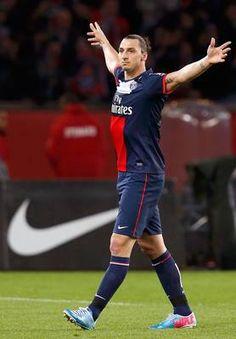 Zlatan Ibrahimovic, oud Ajacied en een van de beste spitsen ooit!