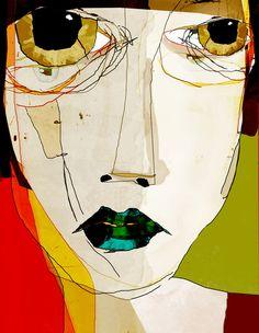 « confuse » Art Print