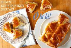 Trhací závin jako hvězda večírků – Kuchařka pro dceru Bread Recipes, Waffles, Food And Drink, Baking, Breakfast, Party, Daughter, Cook, Fit
