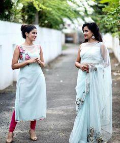 Indian Gowns Dresses, Indian Fashion Dresses, Dress Indian Style, Indian Designer Outfits, Designer Dresses, Fashion Outfits, Indian Wear, Churidar Designs, Kurti Neck Designs