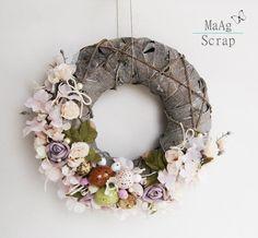 Wianek wiosenny (proj. MaAg Scrap), do kupienia w DecoBazaar.com