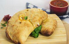 Sopressata and Genoa Salami Calzones #SundaySupper by LittleRedKitchen, via Flickr