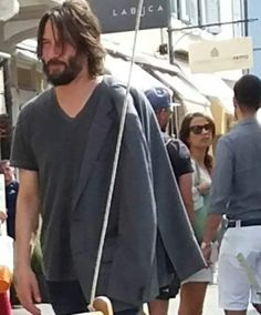Keanu Reeves out and about 9th September 2017 in Cesenatico
