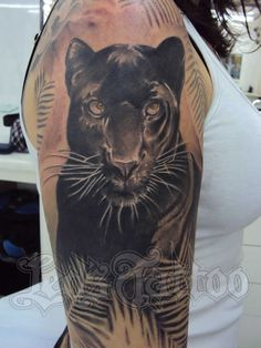 fa3172771f827 Black Panther Tattoos for Women | Panther Tattoo by SuperSibataru ...