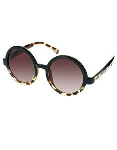 Gafas de sol redondas de ASOS