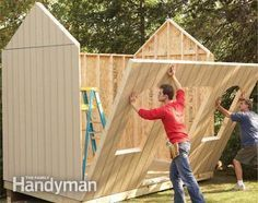 How to Build a Cheap Storage Shed More