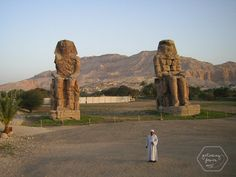 Amenothep Mount Rushmore, Photo Galleries, Mountains, Gallery, Nature, Travel, Egypt, Temple, Statues