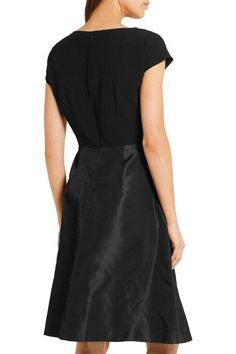 Prada - Embellished Silk-taffeta And Crepe Dress - SALE20 at Checkout for an extra 20% off