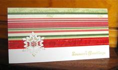 Quick and easy Christmas card by Elmi Raubenheimer