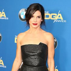 Like Sandra Bullock's Decidedly Messy Chignon?: Sandra Bullock is definitely favoring chignons this season — and her look at the 66th annual Directors Guild of America Awards stayed true to that look.